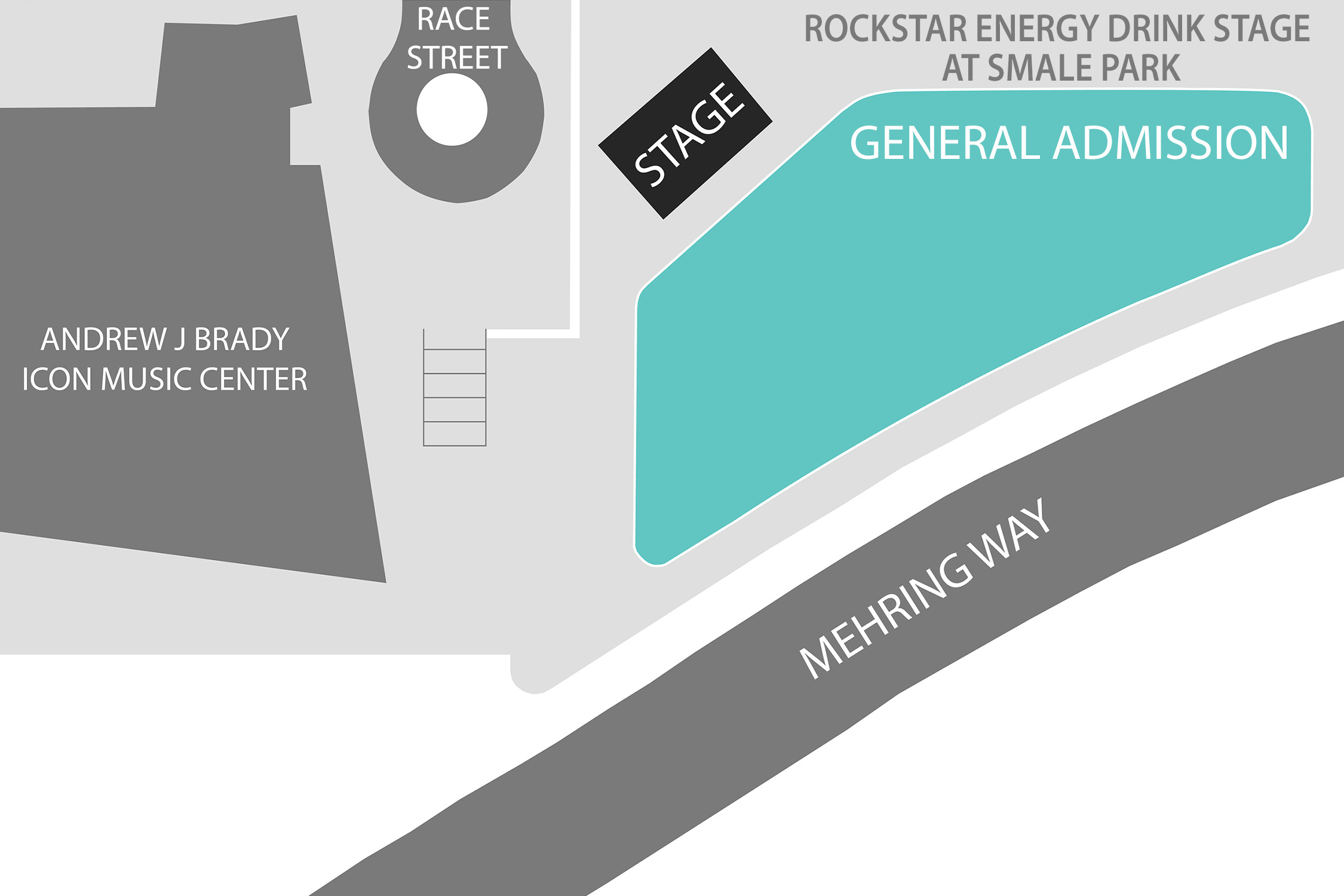 Rockstar Stage Energy Drink Stage at Smale Park - General Admission